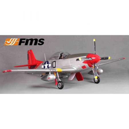 FMS P-51D V8 Red Tail 1450mm PNP