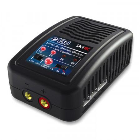 SkyRC e430 laddare LiPo/LiFe 2-4S, 30W 240VAC