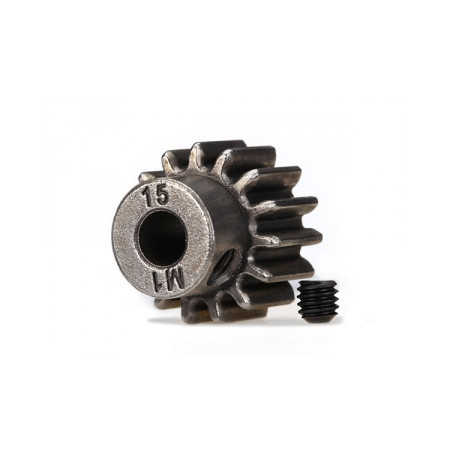 Pinion Drev 15T 1.0M Pitch för 5mm Axel