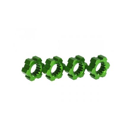 Fälgnav Grön Aluminium (4)