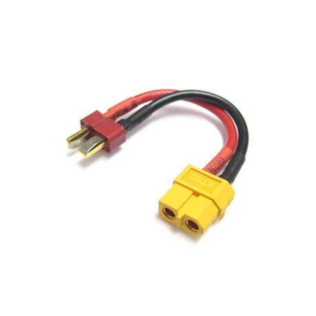 Adapterkabel T-Kontakt Hane - XT90 Hona