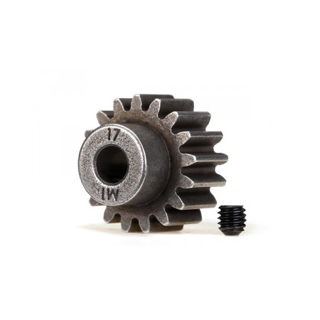 Pinion Drev 17T 1.0M Pitch för 5mm Axel