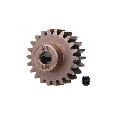 Pinion Drev 22T 1.0M Pitch för 5mm Axel