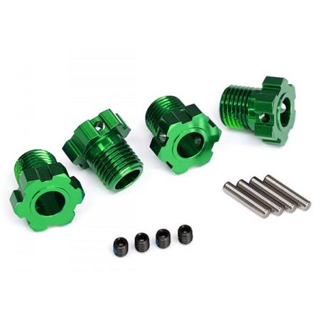 Fälgnav 17mm Grön (4)