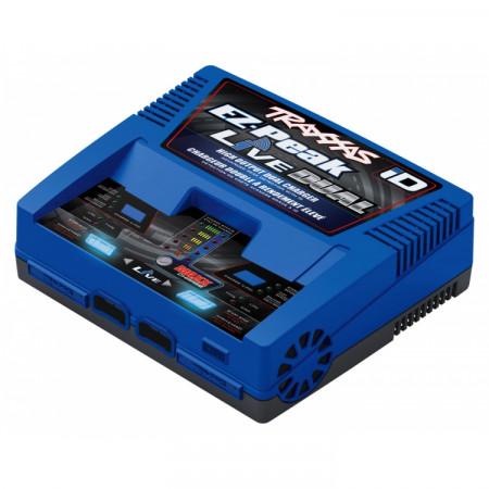 Traxxas EZ-Peak Live Dual 26A NiMH/LiPo Laddare Auto iD