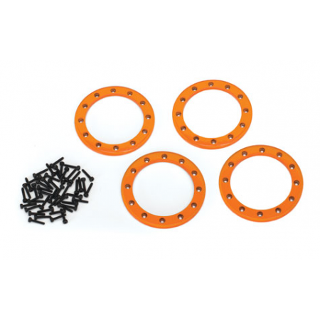"""Beadlock Ringar 2,2"""" Alu Orange (4)"""