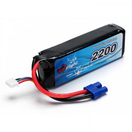 Vapex Li-Po Batteri 3S 11,1V 2200mAh 30C EC3-Kontakt