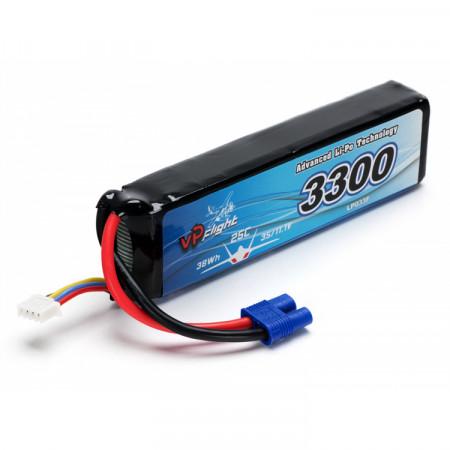 Vapex Li-Po Batteri 3S 11,1V 3300mAh 30C EC3-Kontakt