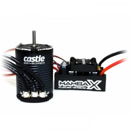 Castle Creations MAMBA X Sensor ESC 25,2V WP, 1406-3800KV Combo Crawler