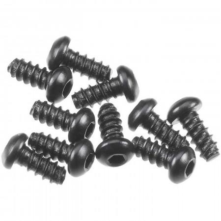 AXA0422 Hex Socket Tapping Button Hd M2.6x6mm Blk