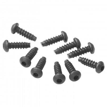 AXA0423 Hex Sckt Tapping Button Hd Screw M2.6x8mm