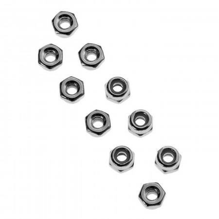 AXA1041 Nylon Locknut 2.5 (10)