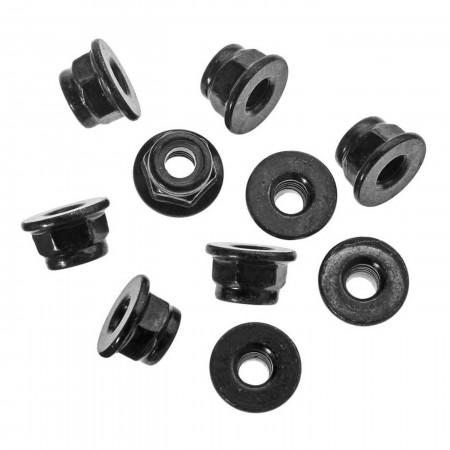 AXA1045 Nylon Locknut M4 Black (10)