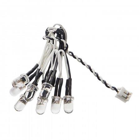 AX31098 8 LED Light String White
