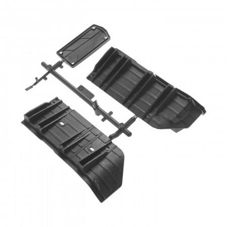 AX31385 Side Plates SCX10 II