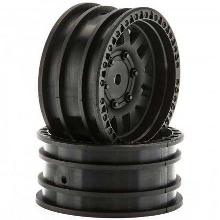 AX31587 1.9 Wheels KMC XD Machete Crawl Black (2)