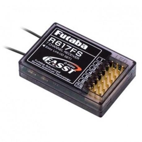 Mottagare R617FS 7-K 2.4G FASST 4,8-6v