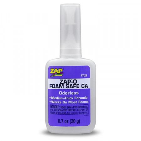 """ZAP-O """"Luktfri"""" CA 20gr - foam safe"""