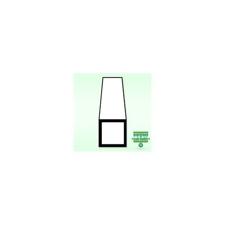 Fyrkantrör 6.3x6.3x350 mm (2)