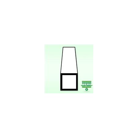 Fyrkantrör 7.9x7.9x350 mm (2)