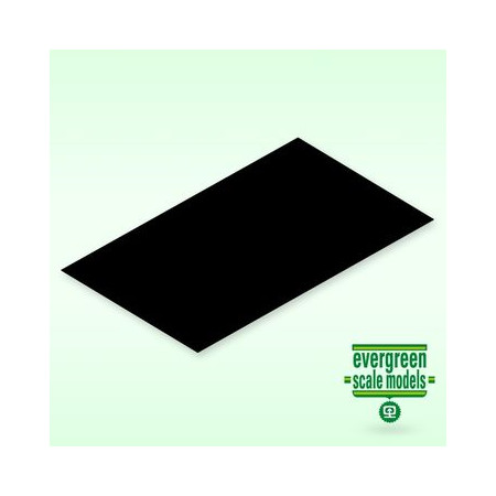 Skiva 2x150x300 mm svart (1)