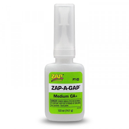 ZAP Gap CA+ 1/2oz 14gr grön - medium