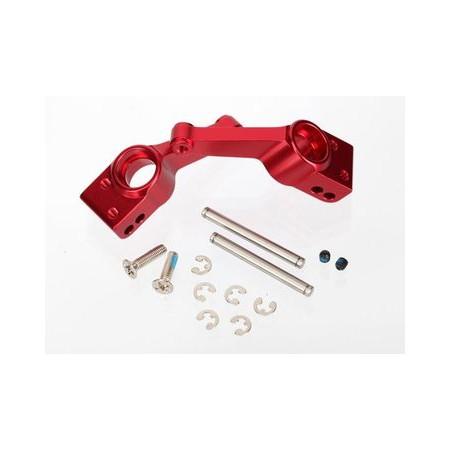 Hjulkonsoll Bak Aluminium Röd (2)