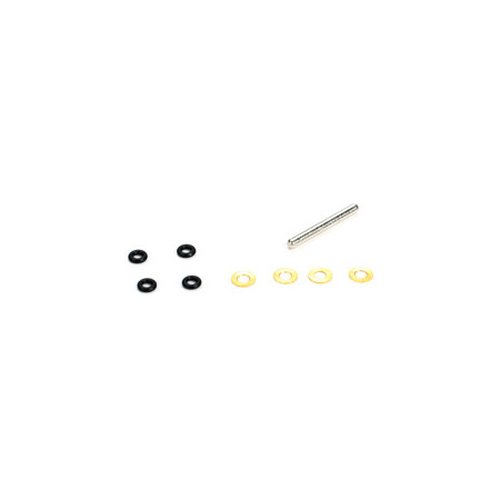 Feathering Spindle w/ O-rings and Bushings: 120SR