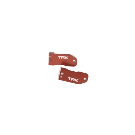 Styrspindelhållare Aluminium Röd (2)