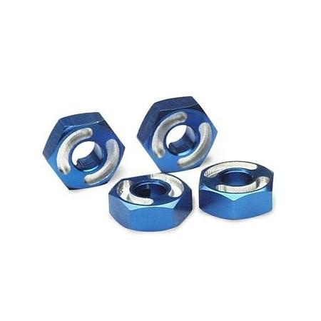 Hjulnav Sexkant 14mm Aluminium (4)