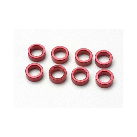 Distanser Aluminium Röd