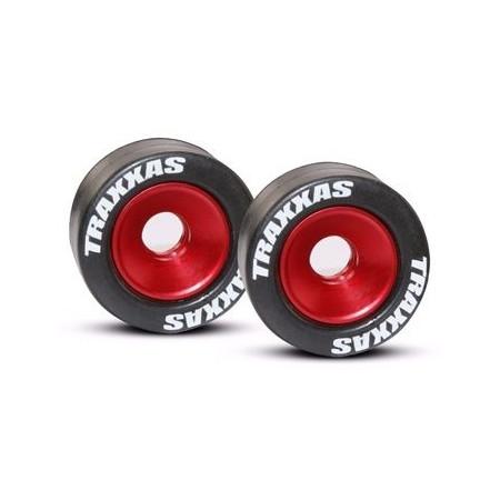 Wheelie Hjul Aluminium Röd (2)