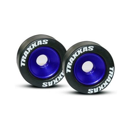 Wheelie Hjul Aluminium Blå (2)