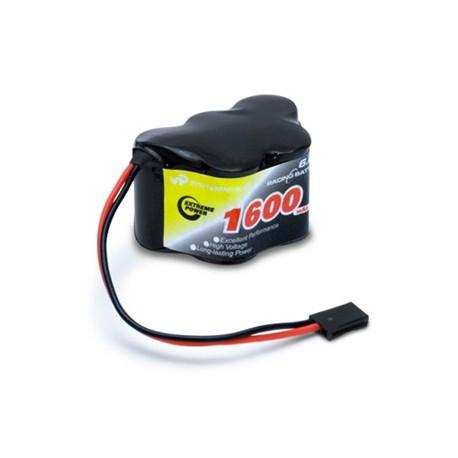 Vapex Mottagarbatteri NiMH 6,0V 1600mAh Hump