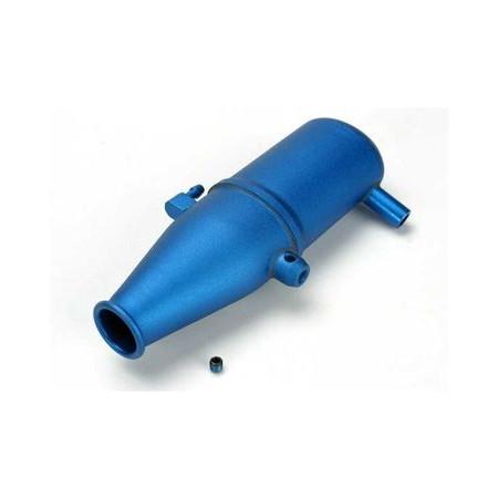 Avgaspipa Aluminium Blå