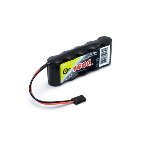 Vapex Mottagarbatteri NiMH 6,0V 1600mAh Rak
