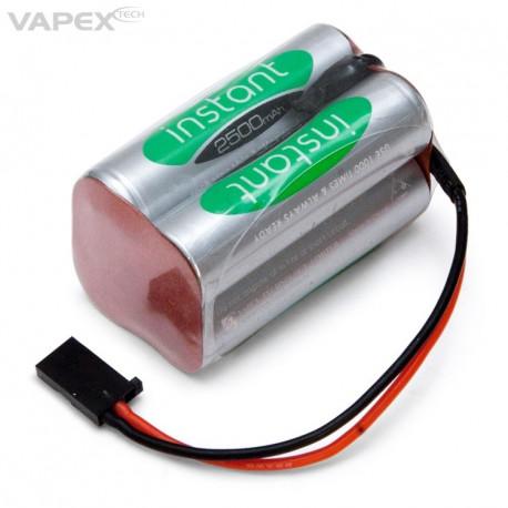 Vapex Mottagarbatteri NiMH 4,8V 2500mAh Kub
