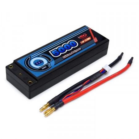 Vapex Li-Po Batteri 2S 7,4V 5000mAh 30C Hard