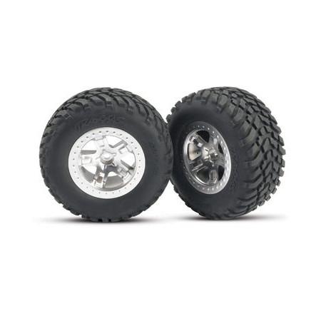 Däck & Fälg, SCT/SCT, 4WD/2WD Bak (2)