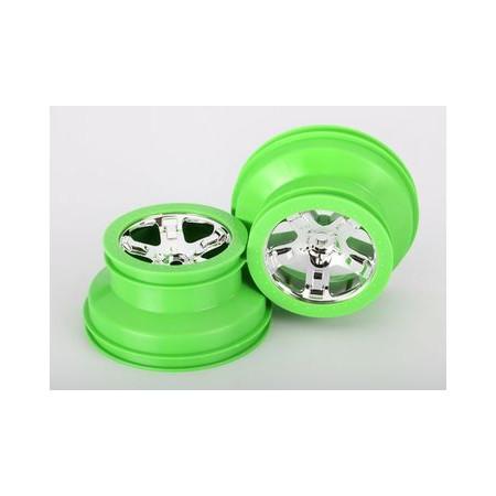"Fälg SCT Grön 2,2/3,0"" 4WD/2WD Bak (2)"