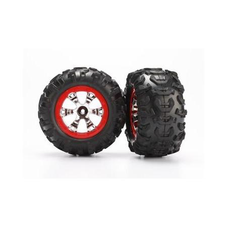 Hjul, däck limmat på fälg (2)