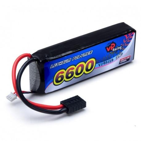 Vapex Li-Po Batteri 2S 7,4V 6600mAh 25C TRX-kontakt