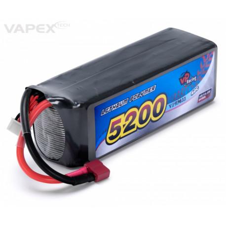 Vapex Li-Po Batteri 4S 14,8V 5200mAh 40C T-kontakt