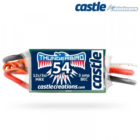 Castle Creations THUNDERBIRD-54A 15V BEC Sport Air BL ESC
