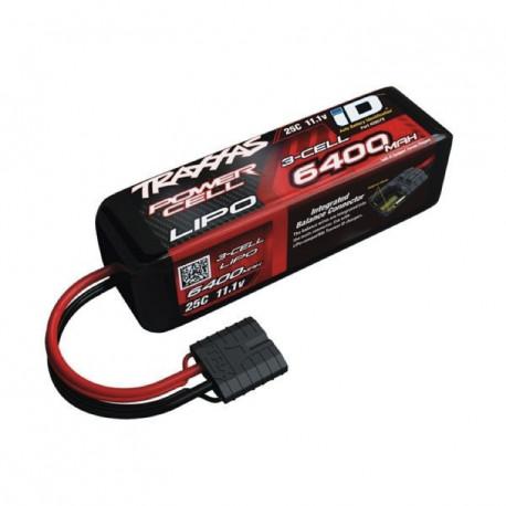Traxxas Li-Po Batteri 3S 11,1V 6400mAh 25C iD-kontakt