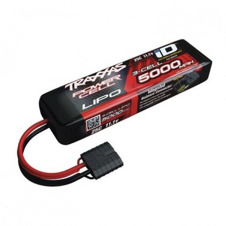 Traxxas Li-Po Batteri 3S 11,1V 5000mAh 25C iD-kontakt (155mm)