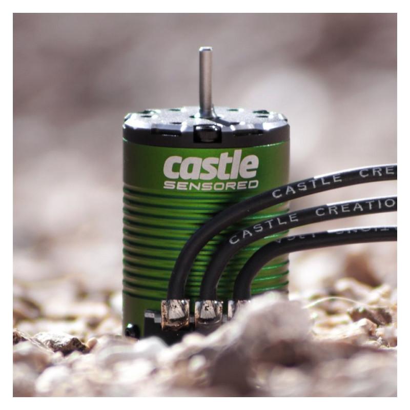 Castle Creations SIDEWINDER 3 ESC 12V 1/10 med 1406-4600KV Sensormotor