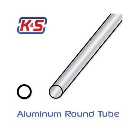 Aluminiumrör 6x300mm (0.45) (2)