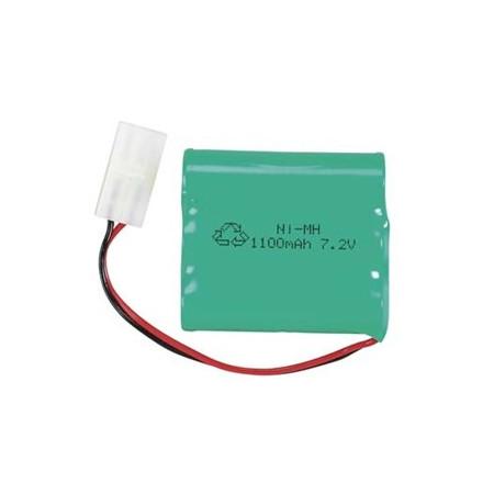 NiMH Batteri 7,2V 1100mAh Tamiya-kontakt