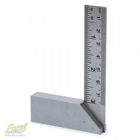 Vinkelhake i stål 3'' (76mm)